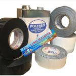 Jual-Polyken-Wrapping-Tape-6-inch-x-100-Feet-Hitam-Putih