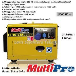 Jual-Genset-Silent-Multipro-SDG-7900-YX-Diesel-Generator